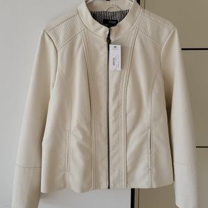 """Brand new """" leather style"""" jacket"""